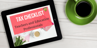 Tax Checklist for Teachers